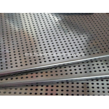 Lembaran keluli tahan karat rata Perforated Metal