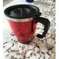 14oz Plastic Cup with Handle, Plastic Tea Cups (SH-SC21)