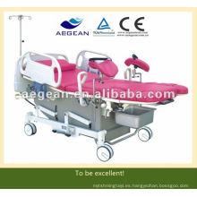 AG-C101A01 ¡Ventas calientes! Cama de ginecología de parto hembra eléctrica multifuncional