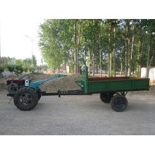 1000-1500 kg capacité deux roues ferme remorque