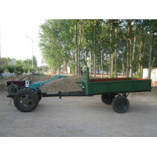 1000-1500 kg capacity two wheels farm trailer