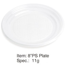 Round Soft Plastic Party Plate 6""