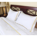 Factory price high quality 100% Cotton white Hotel Embroidery Pillow Cover