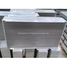 Noyaux de refroidisseur de barre en aluminium brasé