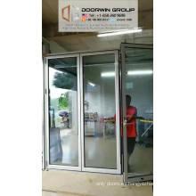 Puerta de cristal plegable del nuevo color blanco bi del producto