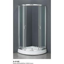 Portes de douche coulissantes à 3 portes de style neuf avec meilleure vente