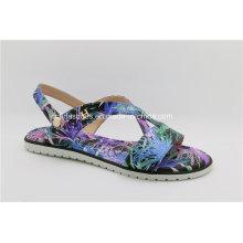 Komfort-flache reizvolle Frauen-Sommer-Sandelholze für Art- und Weisedame