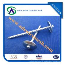 Super qualidade guarda-chuva cabeça telhadura pregos (ADS-RN-05)