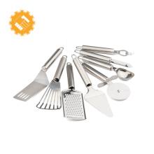 Accessoires de cuisine d'accessoires de cuisine de l'acier inoxydable 8PCS pour la maison utilisant