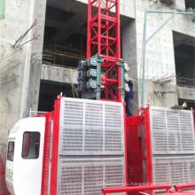 Среднескоростная строительного подъемника (подъем конструкции sc200/200)