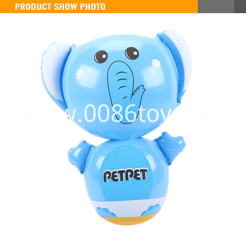 Funny Toy For Kids Big Head Inflatable Elephant