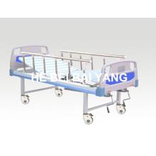 A-93 Cama móvil de hospital manual de doble función