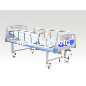 a-93 Movable Double-Function Manual Hospital Bed