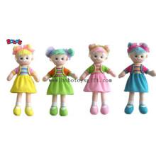 Lovely Fashion Plüsch gefüllte Mädchen Puppe Spielzeug mit Kleid