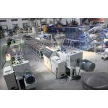 Línea de extrusión de perfiles de PVC