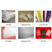 Folha de PP para formação de vácuo para bandejas