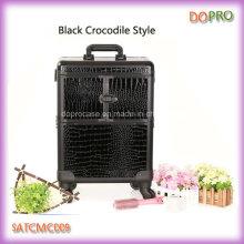 Animal patrón profesional carretilla cosmética caja de rodamiento (satccm009)