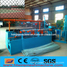 Automatic Chain Link Fence Machine for Two Wire Feeding!