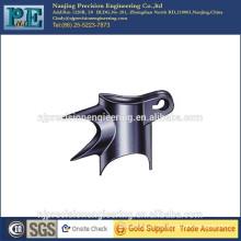 Customized made steel alloy bike frame bracket