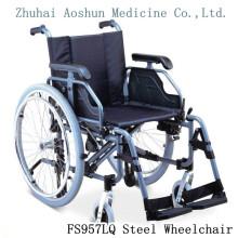 Fs957lq silla de metal de silla de ruedas de acero