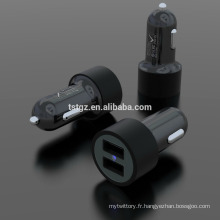 Bonne conception de mode 5V 2.1A sortie Universal USB Car Charger