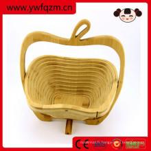 Wholesale panier rond en bambou