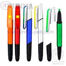 Highlighter продвижение шариковая ручка Jm-6022 с одной стилуса Touch