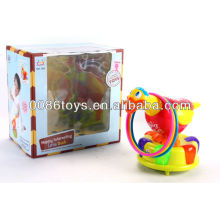 B/O cute duck with set of circle new kids toys for 2014