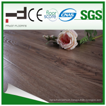 12mm Coffee Walnut Water Proof Laminate Flooring for Dining Room with CE and License