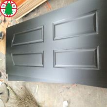 melamina HDF piel de la puerta moldeada