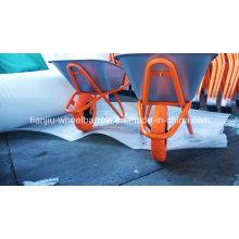 Schubkarre Wb6418 für Russland Markt mit PU-Rad