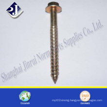 Good Quality Zinc Finished Hex Flange Screw
