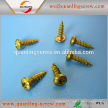 Wholesale china merchandise flat head bronze chipboard screw