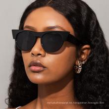 Gafas de sol redondas de ojo de gato de moda europea y americana Gafas de sol de calle rojas WindNet para mujer Gafas de sol de moda para hombres s21184