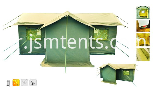 Customized durable waterproof disaster relief tent