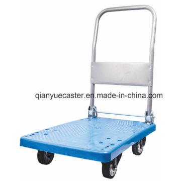 Camion plate-forme pliable en plastique 300kgs / Handtruck / Handcart / Trolley