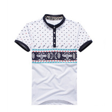 Hot Selling Heavy Pique Fashion Men′s Polo T Shirt