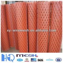 China fábrica de suministro de acero de diamante de alta calidad de rejilla / soldadas rejillas de acero Fence / Ser Malla expansible de metal de hoja de malla de diamante