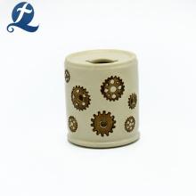 Wall Plug Lamp Ceramic Modern Night Light