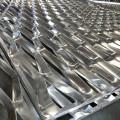 Treillis métallique de revêtement déployé en aluminium