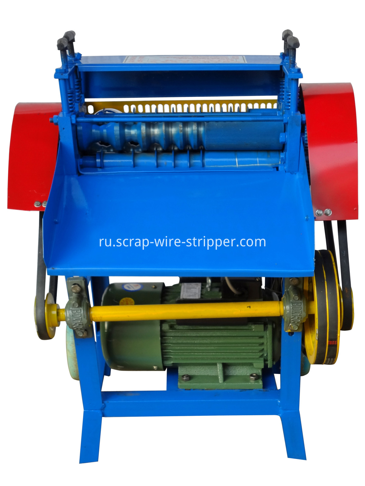 covered wire peeling machine