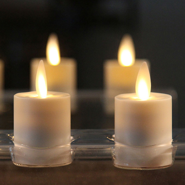 Luminara Rechargeable Votive Candles Set