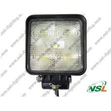 Самые продаваемые светодиодные фонари рабочего освещения 15 Вт, 12 В, 24 В, светодиодные фары дальнего света от автомобиля