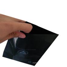 Customized Open up Black ESD Conductive PE Bag