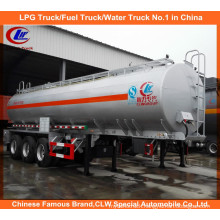 Heavy Duty Tri-Axle 6 Compartments Oil Tank Trailer 42000liters Fuel Tank Semi Trailer for Tanzania