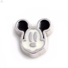 Gros métal alliage mickey souris charmes