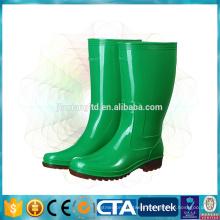 pvc cheap rain boots garden shoes for women