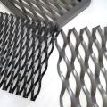 Titanium expanded diamond wire mesh for aerospace