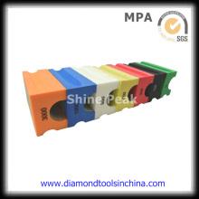 Almohadillas de pulido de diamante electrochapadas para pulir a mano