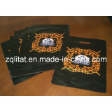 Biodegradable pouch handle bags